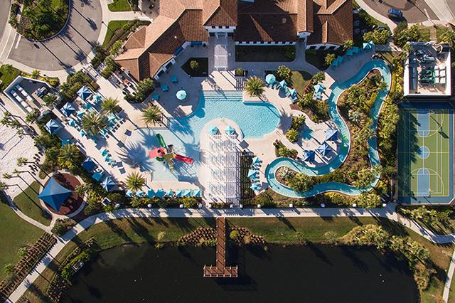 Windsor at Westside Aerial View