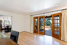 French Doors to Outside Patio
