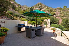 Outdoor Dining Area with BBQ