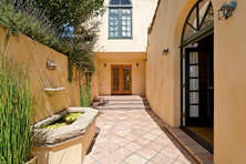 Front Entrance Courtyard
