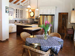 Great Room Dining Area and Kitchen