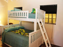 Guest Suite with Bunk Beds - Queen on bottom and Twin on top