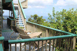 Deck stairway from Upper Deck to Middle Deck