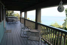 Enjoy the view from Seating Area on Lower Deck