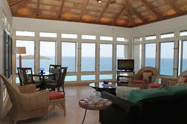 Great Room with Expansive Ocean Views