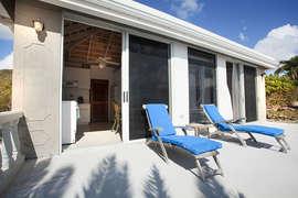 Sunbathing at Maison Miele