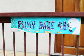 Palmy Daze Entrance