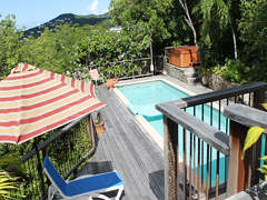 1-Relaxing Pool Deck Area