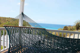Relax in the Hammock on Upper Deck
