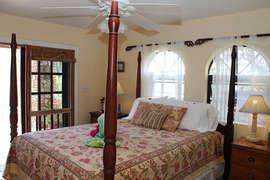 Queen Bed in Lower Master Suite #1