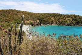 Kiddel Bay on the South Shore of St. John
