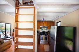 Steps to Loft Bedroom