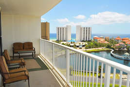 BalconyThe Terrace at Pelican Beach Resort Destin Florida Vacation Rentals