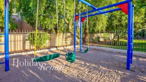 Swing set for children