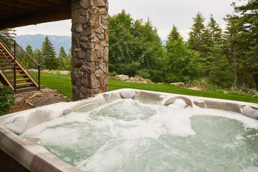 Hot tub -Star View Lodge