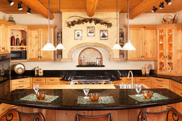 Gourmet Kitchen -Star View Lodge