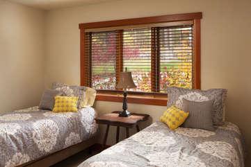 Timberline Vista - Guest Bedroom, downstairs  www.enjoymontana.com