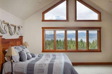 Timberline Vista - Master Bedroom, upstairswww.enjoymontana.com