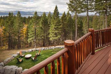 Timberline Vista - Deck and View www.enjoymontana.comwww.enjoymontana.com