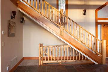 Timberline Vista - Stairs www.enjoymontana.com
